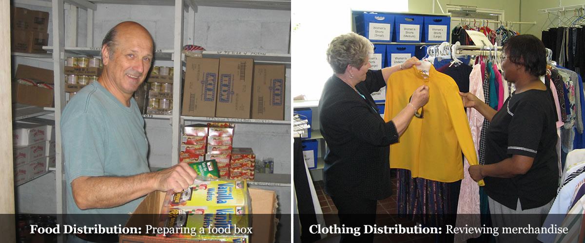 CCA Food Distribution and Clothing Distribution